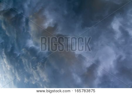 Dark Grey Storm Clouds