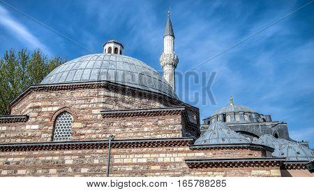 Istanbul, Turkey - April 13, 2014: Kilic Ali Pasa Cami Mosque in Istanbul