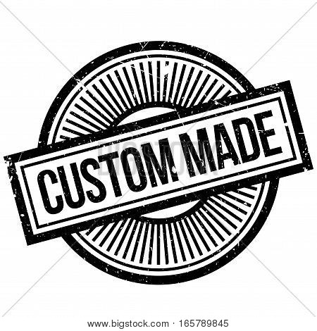 Custom Made rubber stamp. Grunge design with dust scratches. Effects can be easily removed for a clean, crisp look. Color is easily changed.
