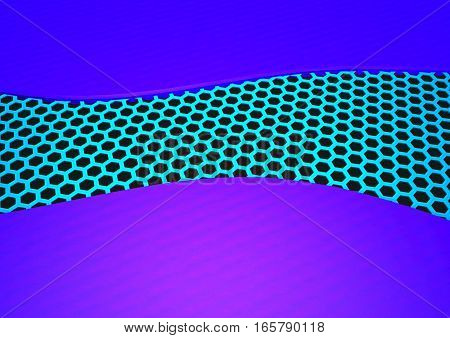 Modern abstract geometrical three-dimensional background. 3D rendering.