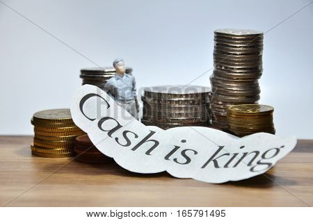 Cash Is King Words