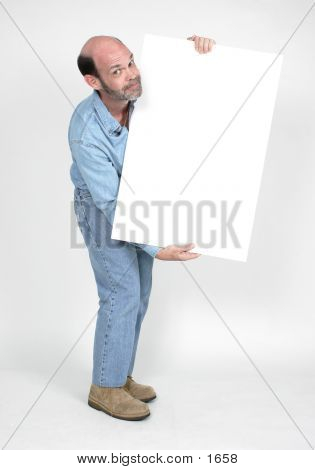 Blank Sign 4
