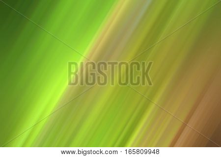 Rays of lines with green minty brown gradient color