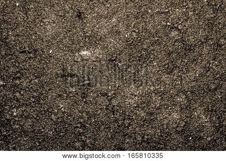 Texture of the soil, soil texture, nature background, yellow soil, dark yellow, grunge nature background, ground