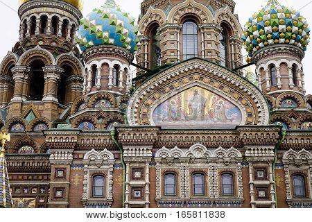 Church Of The Savior On Blood In Russia