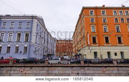 Old Buildings In Saint Petersburg