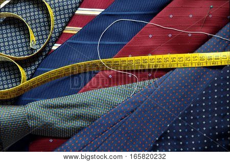 Ties symbol of masculine elegance and style