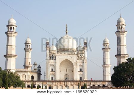 Bibi ka Maqbara that located in Aurangabad India