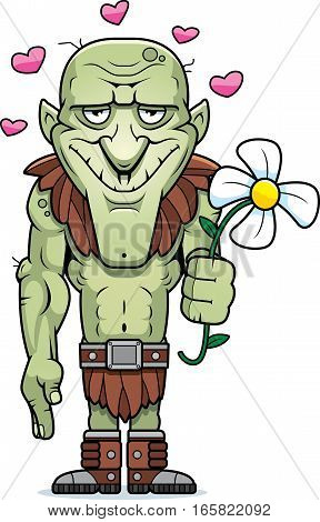 Cartoon Goblin Flower
