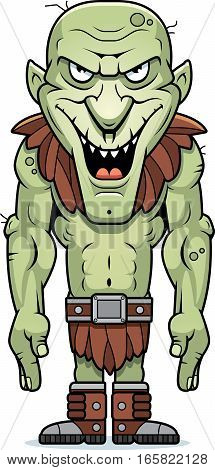 Cartoon Evil Goblin