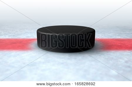 Hockey Puck Centre
