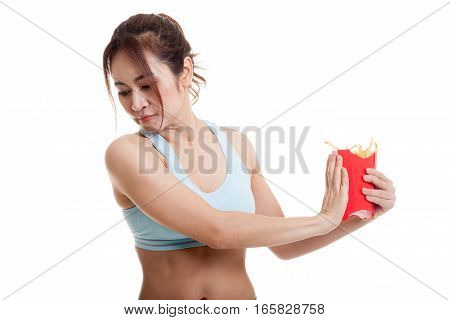 Asian Healthy Girl  Hate French Fries, Junk Food.