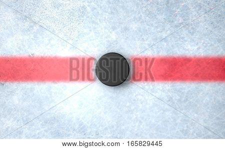 Hockey Puck Centre