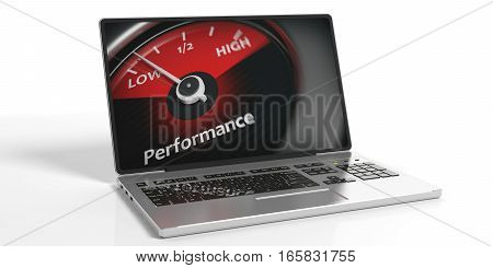 3D Rendering Low Performance Concept