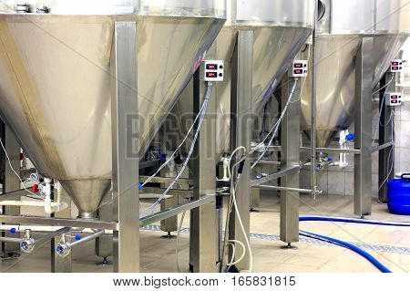 beer production at the plant manufacturing facility