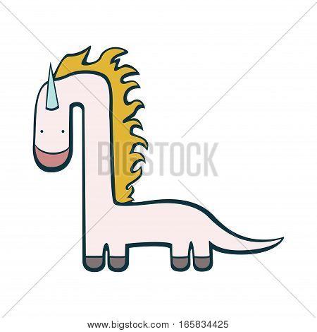 Unicorn dinosaur pretty funny imaginary animal dragon