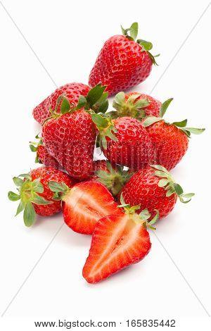 Fresh Ripe Strawberries.