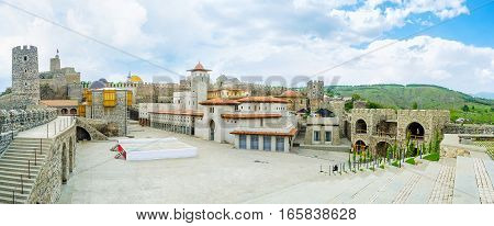 The Rabati Castle Square