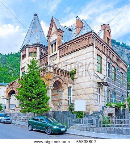 The Museum Of Local History In Borjomi