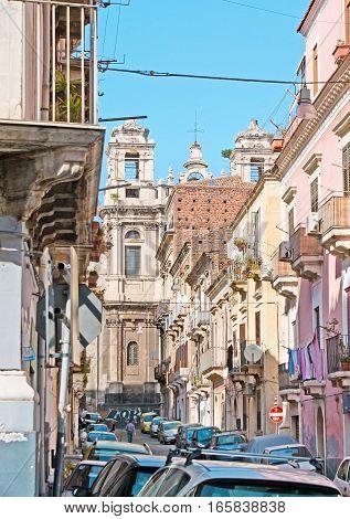 Walk In Old Catania