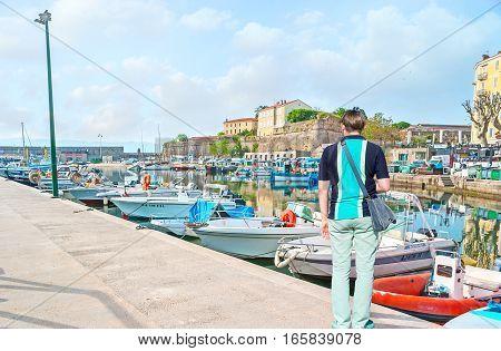 The Port Of Ajaccio