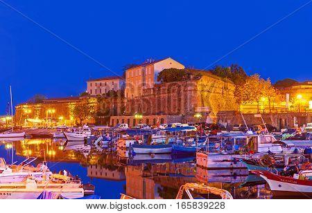 The Evening In Ajaccio
