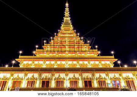 Wat Nong Wang temple in Khon Kaen, Thailand.