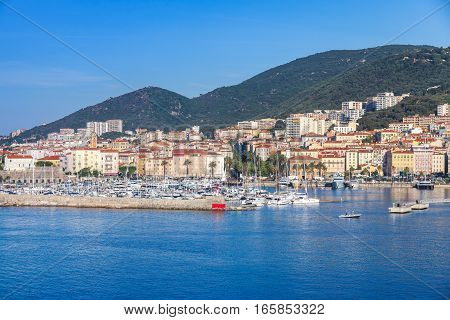 Ajaccio, Coastal Cityscape, Harbor