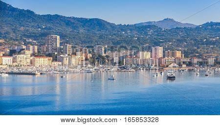 Ajaccio Coastal Sumer Cityscape, Corsica
