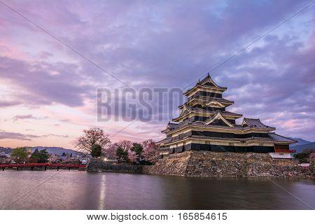 Matsumoto Castle (matsumoto-jo), Or Known As Crow Castle (karasu-jo), One Of Japanese Premier Histor