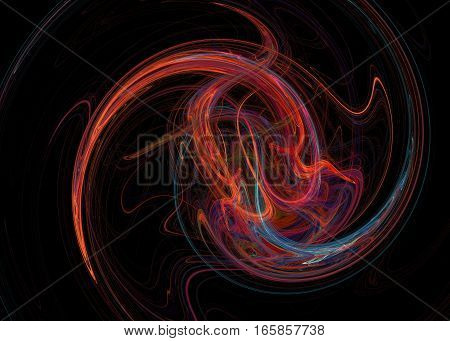 Fractal. Abstract Background Element