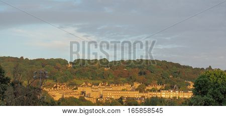 View Of The City Of Bristol Hills