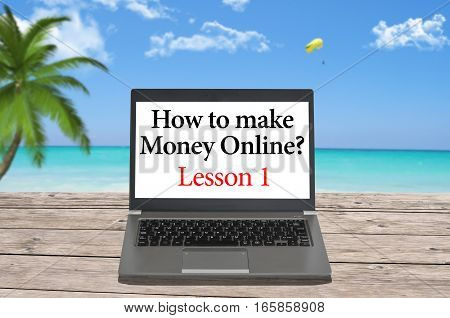 Make money online by working all around the world