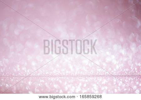 Valentines day beautiful abstract  pink bokeh background