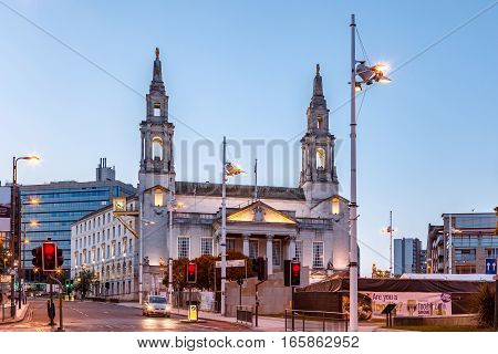 Leeds Civic Hall is a civic building housing Leeds City Council located in Millennium Square Leeds West Yorkshire England.
