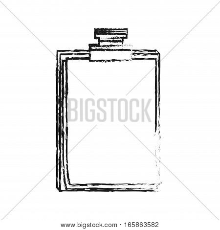 sheet page over white background. colorful design. vector illustration
