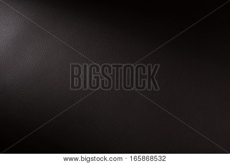 Charcoal Leather Swatch