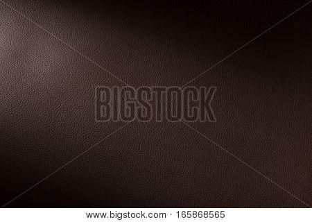 Dark Brown Leather Swatch