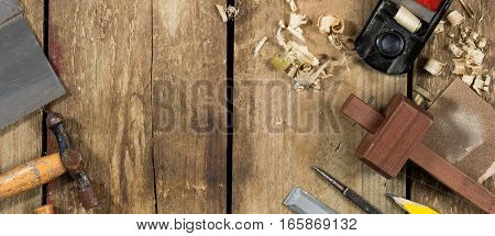 Carpenters Tools Banner Image