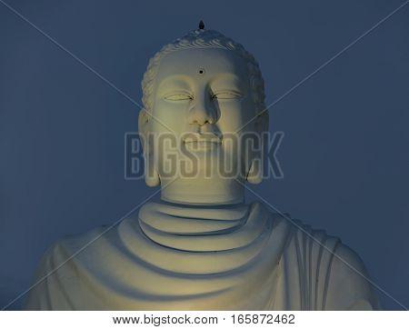Statue of Buddha in Nha Trang city in Vietnam