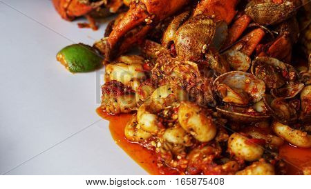 Seafood is any form of sea life regarded as food by humans. Seafood prominently includes fish and shellfish.