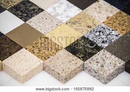 Modern luxury kitchen granite countertop samples for  interior kitchen decoration