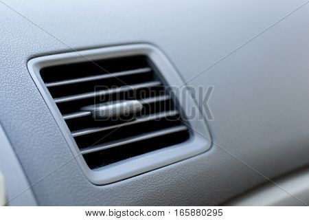 Vehicle Air Vent Opened On Passenger Side