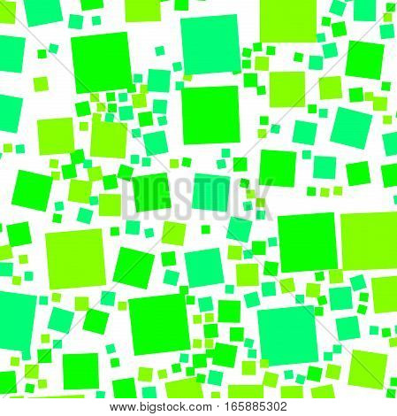 Abstract Background With Flat Blocks. Pattern For Stock Concept.