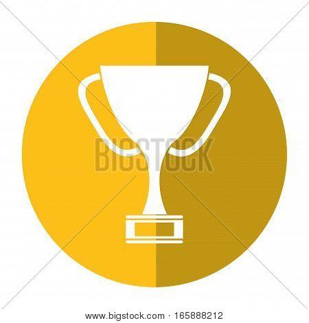trophy award sport win sport shadow vector illustration eps 10