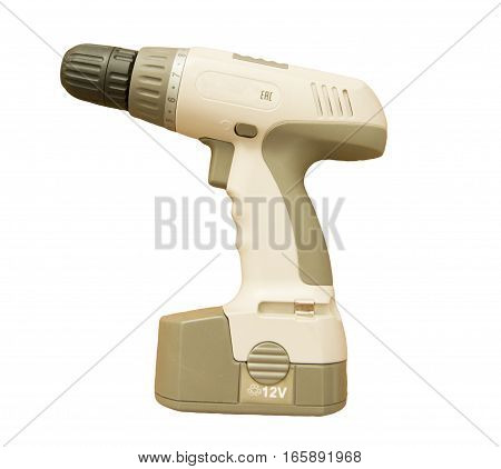 screwdriver on a white background isolate tool