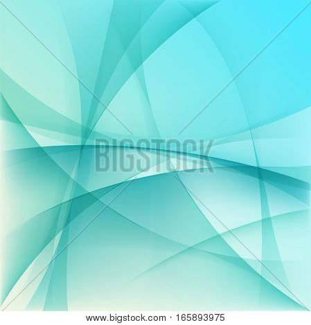 Light blue abstract background, colorful vector illustration