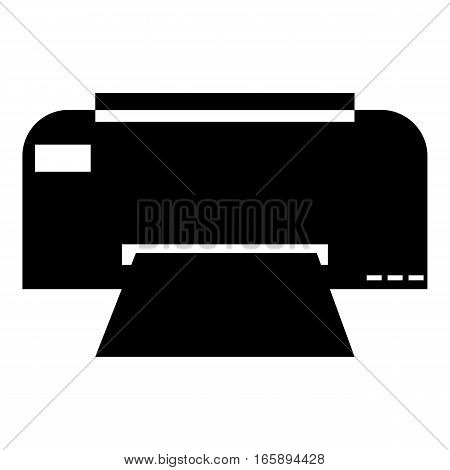 Fax icon. Simple illustration of fax vector icon for web