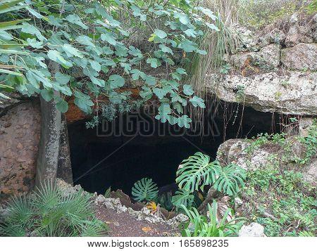 Cuevas Del Drach Caves In Majorca