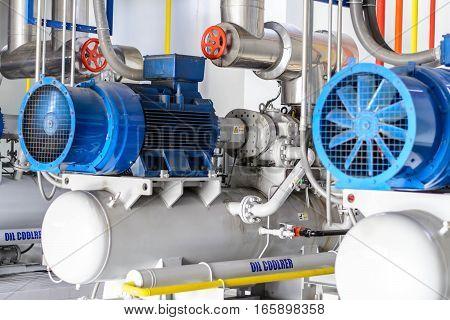 industrial compressor refrigeration at manufacturing , compressor refrigeration at manufacturing
